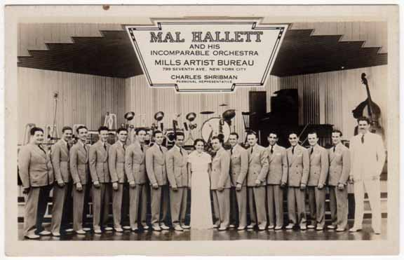 GK 33 Gene's set with Mal Hallett Orch.